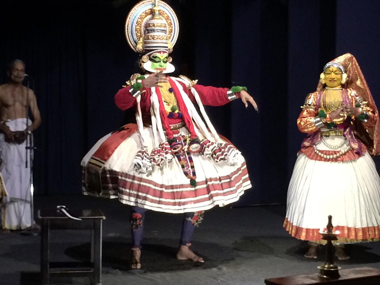 Kathakali dancer for SEEMA. Kerala travels. Seema travel