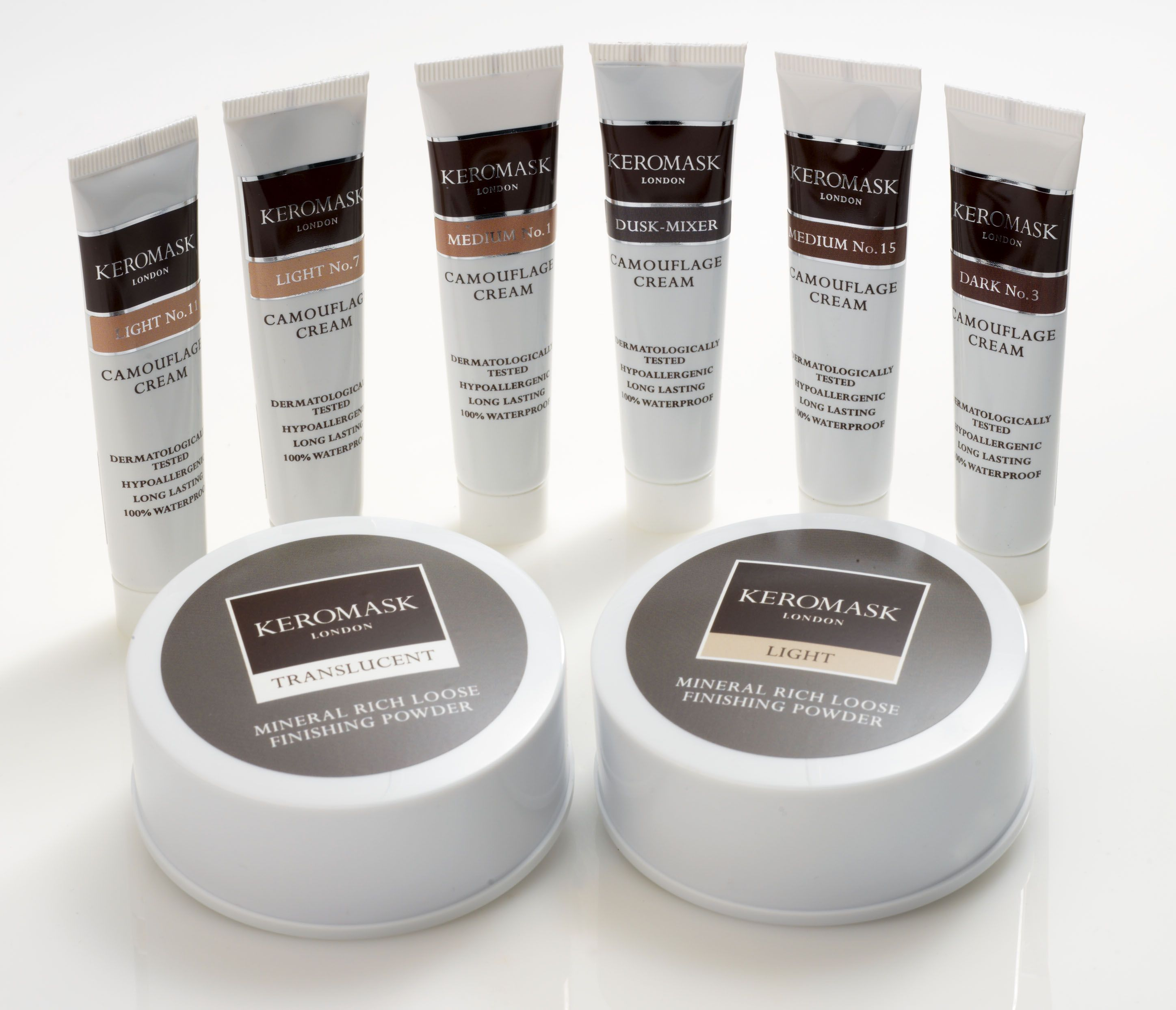 Vitiligo beauty aids